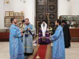 На Благовещение Валуйский архипастырь молитвенно отпраздновал день своего тезоименитства