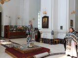 Архиерейское богослужение в Великий Понедельник Страстной седмицы