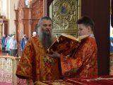 Пасхальная служба архиерея в Алексеевке