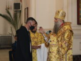 Архиерейское богослужение в праздник перенесения мощей святителя Николая Чудотворца в Бари