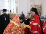 В Неделю 6-ю по Пасхе епископ Савва совершил Божественную Литургию