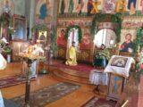 Богослужение в праздник Святой Троицы в селе Красное