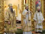 Валуйский архипастырь поздравил с днем тезоименитства Главу Белгородской митрополии