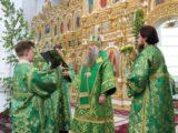 Архиерейское богослужение в праздник Пятидесятницы