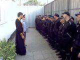 Молебен в Валуйской исправительной колонии в праздник Крещения Руси