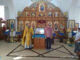 Освящение иконы «Казацкая Покрова» с образом святого казака Петра Калнышевского в храме села Жуково
