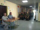 Встреча духовенства Валуйской епархии с новобранцами 3-й Висленской мотострелковой дивизии