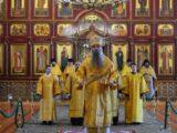 Архиерейская литургия в Свято-Троицком кафедральном соборе г. Алексеевка