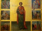 В день памяти святого великомученика Пантелеимона Валуйский Архипастырь совершил праздничное богослужение