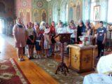 Молебен «На начало учения» в селе Красное