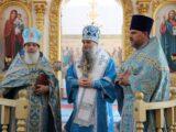 В праздник Смоленской иконы Божией Матери епископ Савва возглавил Божественную литургию в храме села Уразово