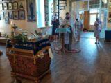 Благодарственный молебен в Вейделевке