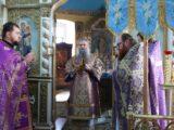 Архиерейское богослужение в праздник Воздвижения Креста Господня в селе Солдатка