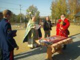 Торжественная церемония освящения штандарта Белгородского отдела Конвоя памяти Царя Николая II