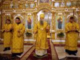 Архиерейское всенощное бдение накануне 24-ой Недели по Пятидесятницы