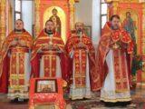 Престольный праздник в селе Афоньевка