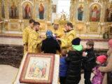 Епископ Савва совершил воскресную литургию в валуйском кафедральном соборе
