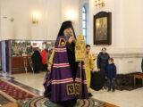 Воскресная архиерейская литургия в Неделю 25-ю по Пятидесятнице
