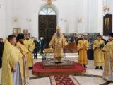 Епископ Савва совершил Божественную литургия в Неделю 26-ю по Пятидесятнице