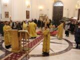Архиерейское богослужение в день памяти апостола Андрея Первозванного