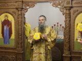 Архиерейское богослужение на подворье бывшего Николо-Тихвинского женского монастыря поселка Пятницкое
