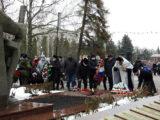 Благочинный приходов I-го Бирюченского округа принял участие в митинге посвященном 78-й годовщине освобождения Красногвардейского района от немецко–фашистских захватчиков