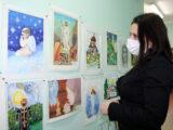 В Красненском благочинии завершился районный конкурс рисунков и декоративно-прикладного творчества «Мой Бог»