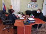 В продолжение святочных дней священник посетил Мухоудеровскую территориальную администрацию