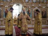 Преосвященнейший епископ Савва совершил воскресную Божественную Литургию в Свято-Николаевском кафедральном соборе г. Валуйки