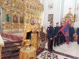 В Свято-Николаевском соборе г. Валуйки состоялось торжественное верстание новобранцев – казаков Висленской мотострелковой дивизии