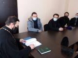 В здании епархиального управления состоялось собрание помощников благочинных по работе с молодежью