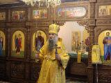 Преосвященнейший епископ Савва совершил Божественную Литургию в возрождающемся Николо-Тихвинском женском монастыре поселка Пятницкое