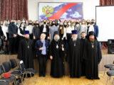Правящий архиерей Валуйской епархии посетил Алексеевский колледж и провел встречу со студентами