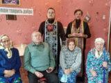 Священнослужители Волоконовского благочиния посетили Погромский дом-интернат для пожилых людей «Тихая пристань»