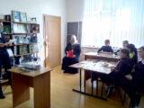 Священник принял участие мероприятии, посвященном Дню православной книги в Большебыковской школе