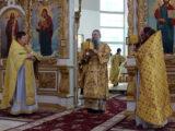 Неделю 1-ю Великого поста, правящий архиерей Валуйской епархии совершил Божественную Литургию в Свято-Николаевском кафедральном соборе г. Валуйки.