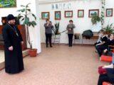 Настоятель храма святого апостола Андрея Первозванного села Айдар встретился с учащимися местной школы