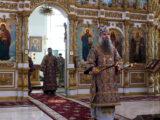 Преосвященнейший епископ Савва совершил Божественную Литургию в Свято-Николаевском кафедральном соборе г. Валуйки
