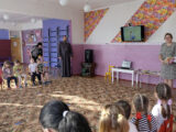 Настоятель Свято-Успенского храма с. Ливенка посетил МБДОУ «Детский сад «Улыбка» с. Ливенка»