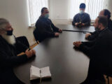 В здании епархиального управления состоялось собрание духовников казачьих обществ Валуйской епархии