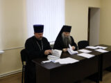 Под председательством Преосвященнейшего Саввы, епископа Валуйского и Алексеевского состоялось расширенное заседание епархиального совета