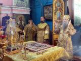 В Неделю мясопустную Преосвященнейший епископ Валуйский и Алексеевский Савва совершил Божественную Литургию в храме святого благоверного князя Александра Невского г. Алексеевка