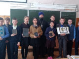Настоятель Вознесенского храма с. Щербаково провёл ряд лекций среди учащихся местной школы