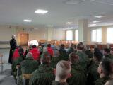 В 3-й Висленской мотострелковой дивизии священник провел беседу о смысле Великого поста