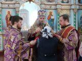 В праздник 40 мучеников Севастийских епископ Савва совершил Божественную Литургию Преждеосвященных даров в храме святого великомученика Димитрия Солунского села Никитовка