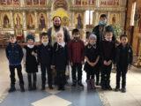 Учащиеся Айдарской средней общеобразовательной школы посетили храм святого апостола Андрея Первозванного села Айдар