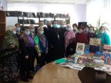 Мероприятие в Красненской центральной районной библиотеке, посвященное Дню православной книги, посетил благочинный приходов Красненского округа