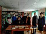 Настоятель храма Святителя Тихона Задонского села Камышеватое посетил Хрещатовскую школу