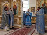 В праздник Благовещения Пресвятой Богородицы епископ Савва молитвенно отметил день своего тезоименитства