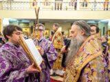 Преосвященнейший епископ Савва принял участие в торжествах по случаю 28-й годовщины архиерейской хиротонии митрополита Белгородского и Старооскольского Иоанна